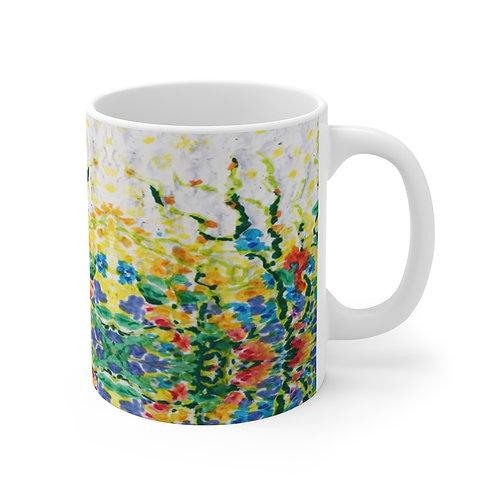 Mug 11oz - Smell the Flowers
