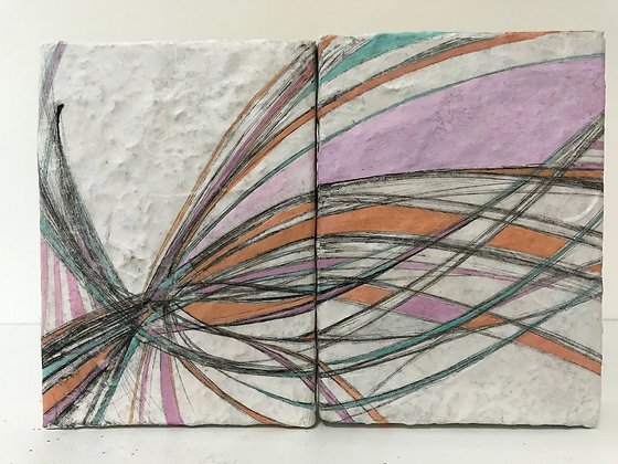 """Winds of Change (diptych) - 11"""" x 8"""""""