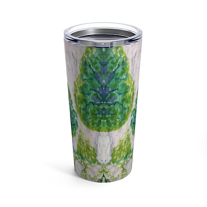 Tumbler 20oz with Lid - Smile & Say Trees