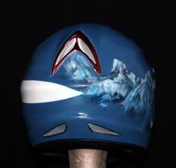 Custom bike helmet (back)