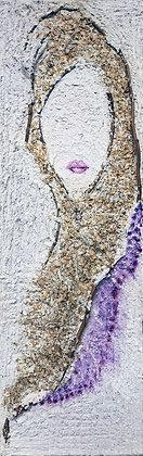 """Tree Seed Fairy (original art) 14"""" x 42"""""""