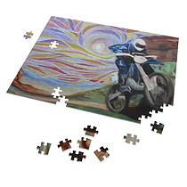 Motorcycle Sunset puzzle.png