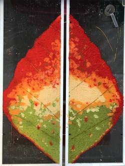 leaf commission color study
