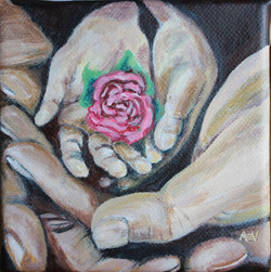 Hands that Hold (SOLD)