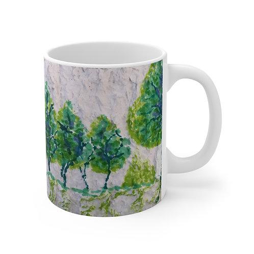 Mug 11oz - Smile & Say Trees