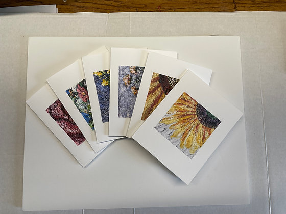 Floral Notecard Set of 6