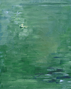 Green Water Abstract