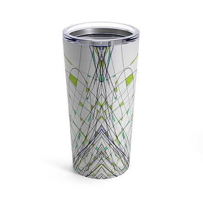 Tumbler 20oz with Lid - Hidden Cat in the Grass