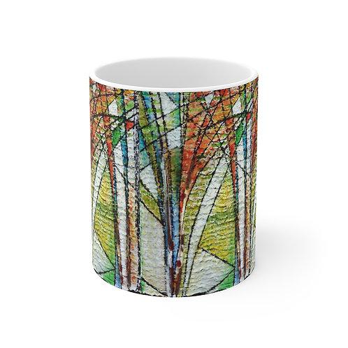 Mug 11oz - Freestyle Trees