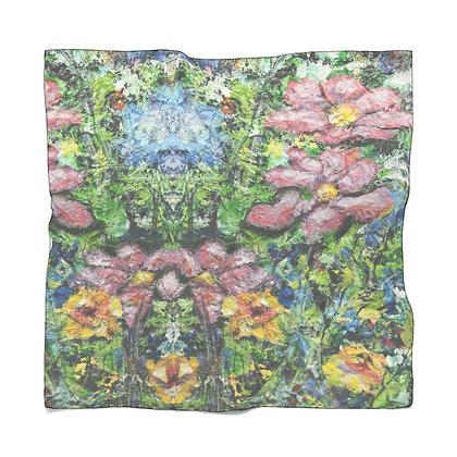 Chiffon Scarf:  Wildflower Bunch