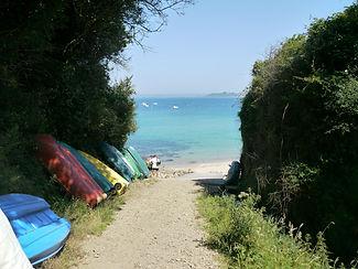 camping en bord de mer dans le finistere