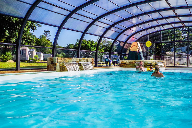 Camping finistere nord avec piscine couverte et chauff e - Camping roscoff avec piscine couverte ...