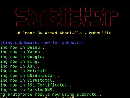Sublist3r - Tutorial