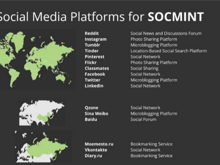 SOCMINT : Social Media Intelligence