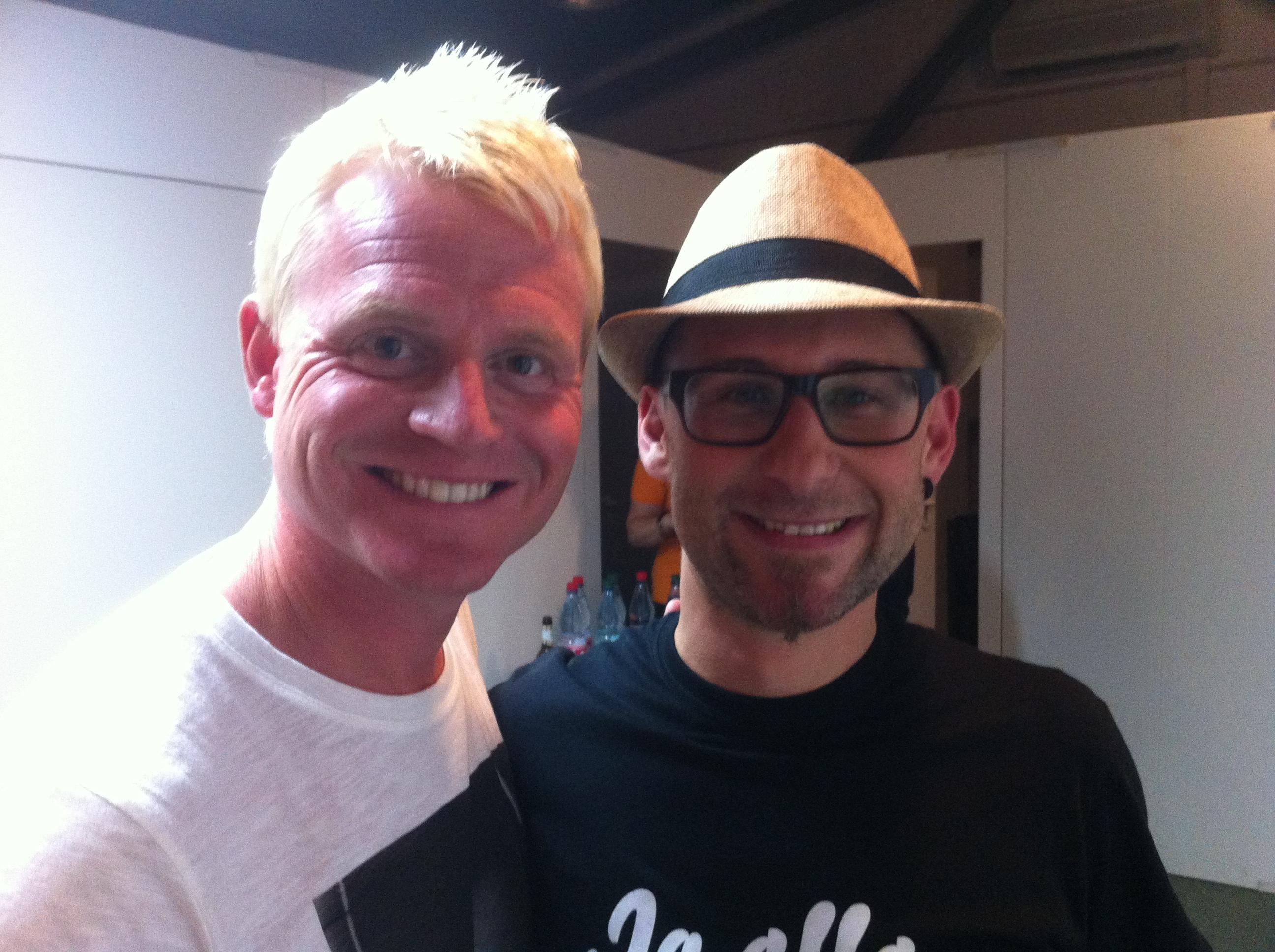 Joe mit Guido Cantz