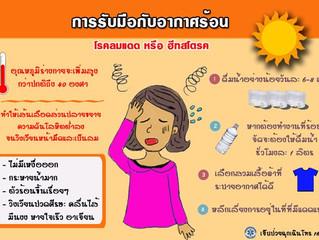 วิธีดูแลสุขภาพรับมือกับหน้าร้อน – อากาศร้อน ทำไมถึงปวดหัว