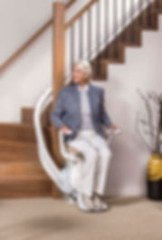 เก้าอี้เลื่อนขึ้นบันได OTOLIFT AIR