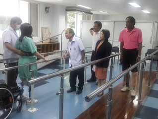 สธ. เผยข่าวดี! คนพิการขาขาดทั่วไทย ได้รับขาเทียมฟรีภายในปี 2559