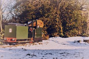Buddy Petrol Hydraulic in snow