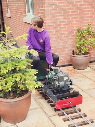Now sold Jet in garden