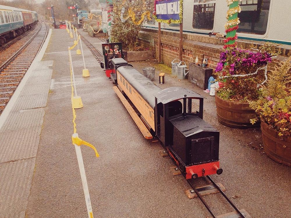 "GLMR Portable Miniature Railway Hire UK Newcastle Electric 7 1/4"" gauge Shunter"