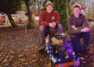 Patrick and Nick at Christmas with 534