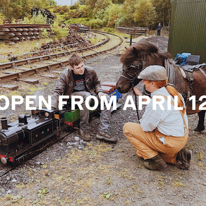 Open from April 12!