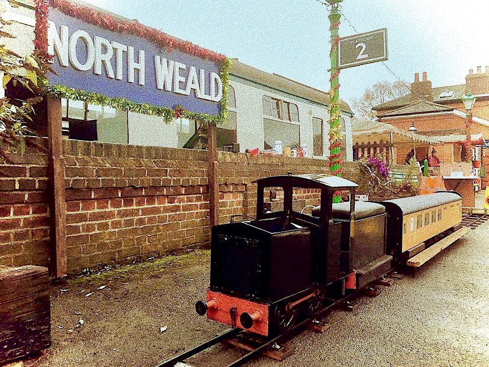 Epping Ongar Miniature Railway - GLMR Portable Miniature Railway Hire