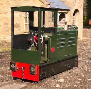 Buddy Petrol Hydraulic Locomotive