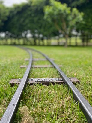 train track at Wheelbirks