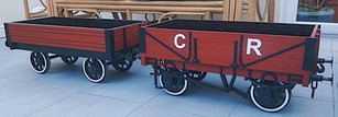 Caledonian Railways wagons by Nick