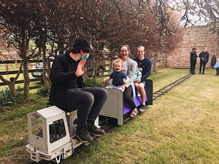 Happy Passengers at Wheelbirks