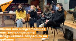 Живая или искусственная ель: эко-активисты Владикавказа собрались на дебаты