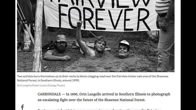 Interview with Orin Langell WDBX about Portraits of Struggle