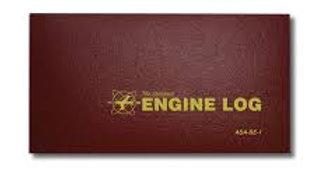 ASA-SE-2 STANDARD ENGINE LOG - HARD COVER (LONGER)