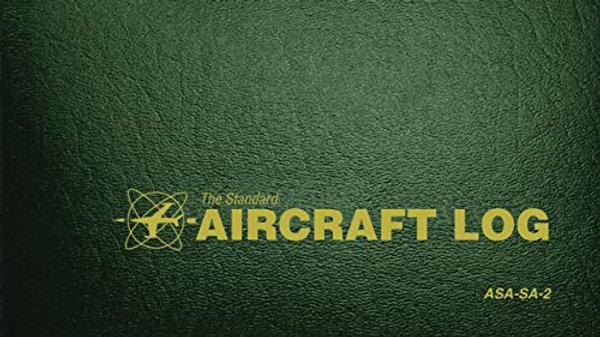 The Standard Aircraft Log: ASA-SA-2 Hardcover