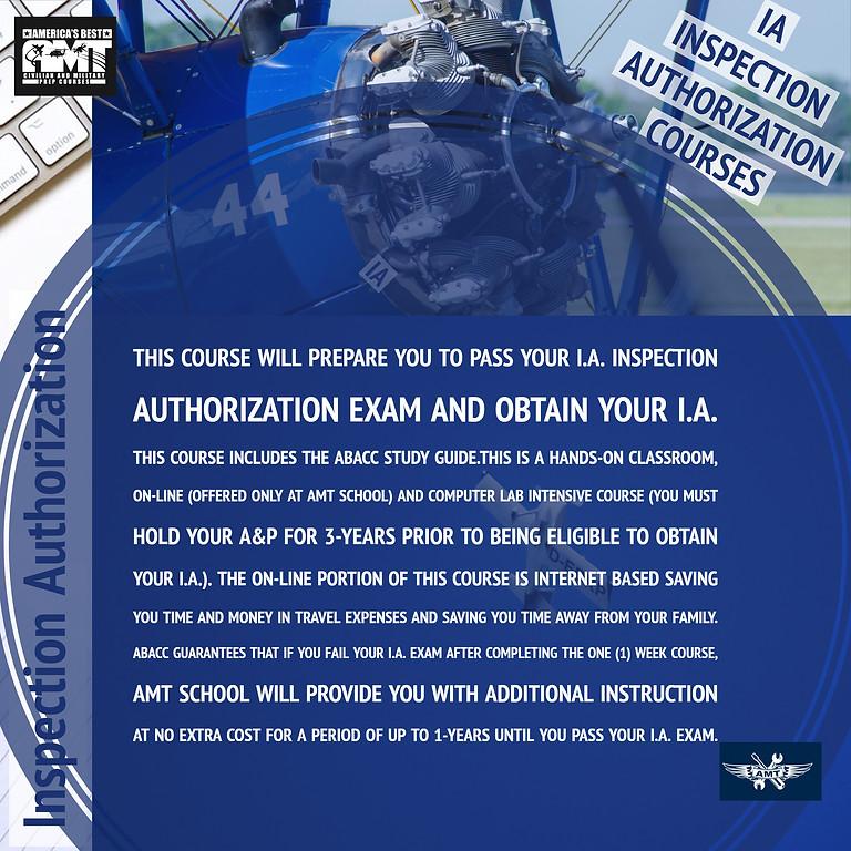 (IA)Inspection Authorization