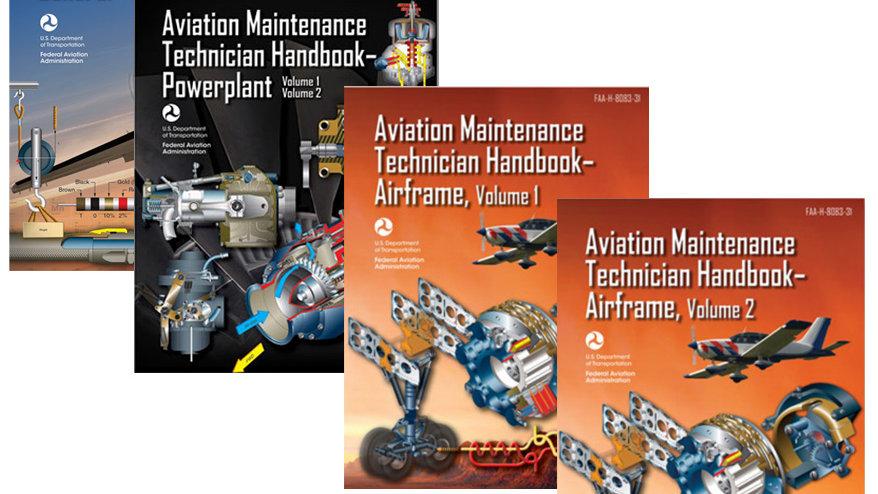 FAA 8083 A&P Training Handbook Bundle