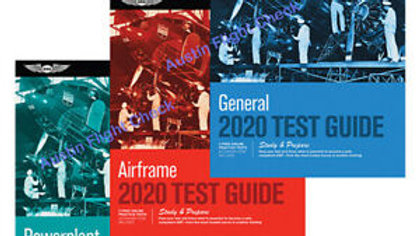 ASA Aviation Maintenance Test Guide Bundle (Powerplant, Airframe, and General)