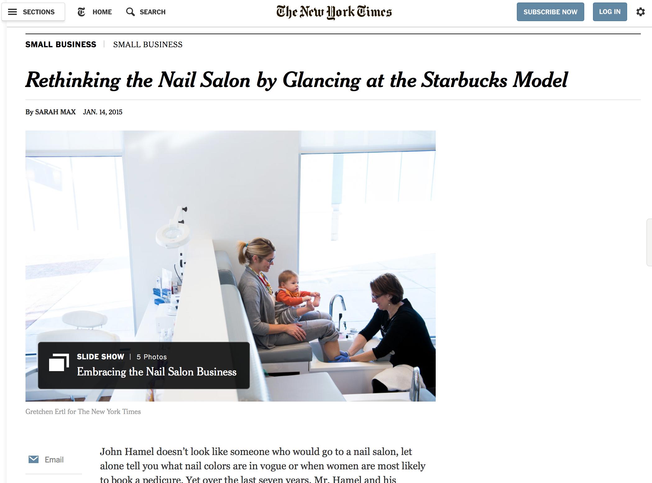 Rethinking the Nail Salon