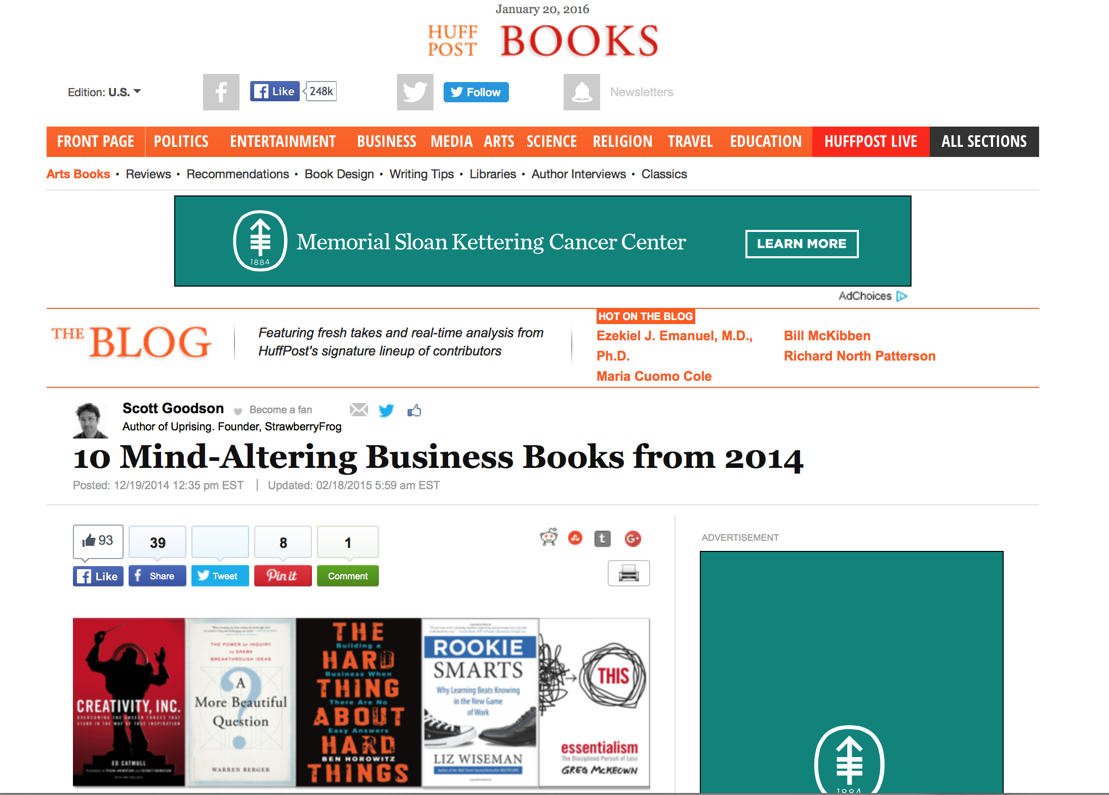 10 Mind-Altering Business Books from