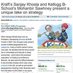 The Economic Times, Sanjay Khosla