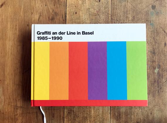 Graffiti an der Line in Basel 1985-1990