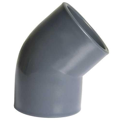 PVC Winkel 45° 50 mm