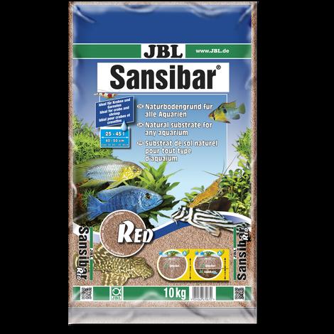 JBL Sansibar RED Roter, feiner Bodengrund für Süß- und Meerwasser-Aquarien