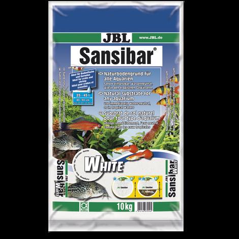 JBL Sansibar WHITE Weißer, feiner Bodengrund für Süß- und Meerwasser-Aquarien
