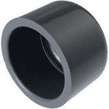 Endkappe  PVC 40 mm