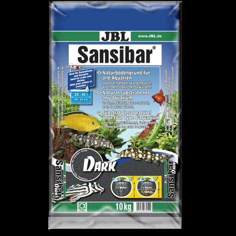JBL Sansibar DARK Schwarzer Bodengrund für Süß- und Meerwasser-Aquarien