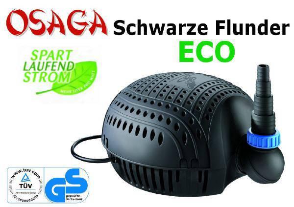 Schwarze Flunder ECO 8.100 L