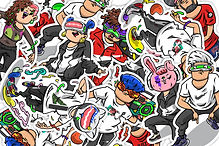 One-Of-A-Kind Nike Air Avatar Stickers